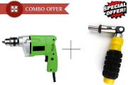 Buy Gbt New 10mm Powerful Drill Machine With 41 PCs Tool Kit Screwdriver Se
