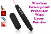 Gadget Hero's USB Wireless Gadget Hero's PowerPoint Presenter & LASER Point