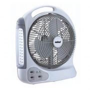 12 inch Rechargeable Fan with LED Emergency Light