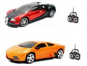 Combo Of Bugatti Veyron And Lamborghini Remote Control Cars With Led Lights