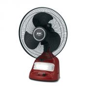 Orbit Rechargeable Heavy Duty 12 inch Fan with Emergency Light