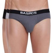 Sauve Adonis Brief Basiics By La Intimo (pack Of 3 ) - ( Code -bcsbr13c27a0 )