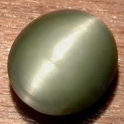 "100 Percent Natural And Genuine Cat""S Eye (Lahsuniya) 5 Ct With Genuinity Certificate"