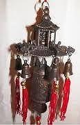 Buddha In Pagoda Prosperity Bells Feng Shui Bell Pagoda Bells