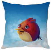 Stybuzz Artistic Red Bird Cushion Cover