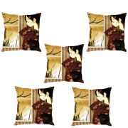 Stybuzz Girl At The Window Cushion Cover- Set Of 5