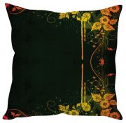 Stybuzz Abstract Art Black Cushion Cover