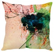 Stybuzz Abstract Art Pink Cushion Cover