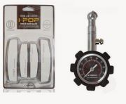 Combo Of Coido Pressure Guage + Ipop White Door Guard
