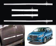 Car Steel Chrome Side Beading For Toyota Innova