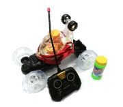 Bubble Maker Gifts & Arts Bubble Blowing Stunt Car With Music Battery Opera
