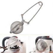 Green Tea Strainer Filter Clip Tea Coffee Mesh Stainless Steel Ball Infuser