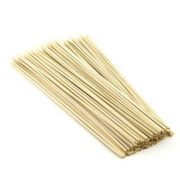 100 PCs 8 Inches Bamboo Barbecue Party Sticks Kebab Skewers Long Toothpick