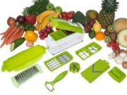 Nicer Multi Chopper Vegetable Cutter Fruit Slicer Peeler Dicer Plus