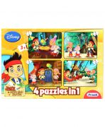 Frank Jake And The Never Land Pirates Puzzle Game