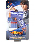 Mitashi Bang Scarlet Macaw Gun With Darts