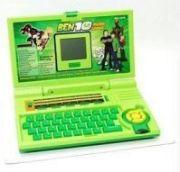 Ben 10 Kids Toy Educational Laptop Green
