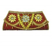 Estoss Elegant Red Party Clutch For Womens