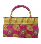 Estoss Pink Party Clutch For Womens