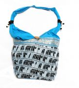 Estoss MEST1409 Blue Ethnic Ethnic Bag
