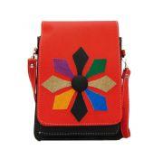 Estoss MEST1709 Red Designer Sling Bag