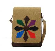 Estoss MEST1711 Beige Designer Sling Bag