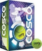Cosco Cricket & Tennis Balls Packed In Box - Pack Of 6 Balls