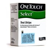 OneTouch Select Simple Test Strips, 50 Strips