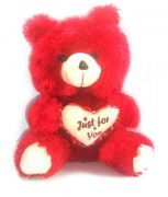 Grj India 48 Inches Teddy Bear - Red