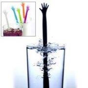 High Five Help Me! Drink Stirrer Party Cocktail Stir Stick Pack Of 5