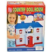 24 Pieces Country Doll House For Kids