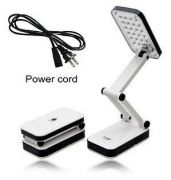 Rechargeable LED Emergency Table Lamp White