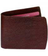 Sondagar Arts Brown Colour Leather Mens Wallet