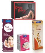 Women Care Kit (Hair Remover Rose & Fast Glow Fairness Cream & Body Butter
