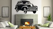 Decor Kafe Decal Style Vintage Car Wall Sticker