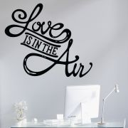 Decor Kafe Decal Style Love Is In The Air Small Wall Sticker