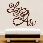 Decor Kafe Love Is In The Air Wall Decal - (Code -DKHS0235B)