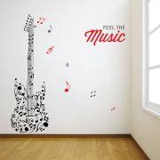 Decor Kafe Music Music Wall Decal - DKHS0404
