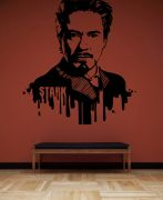 Decor Kafe Legends The Legend Iron Man Wall Decal - DKHS0445