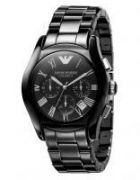 Imported Emporio Armani Ar1400 Black Ceramic Chronograph Men Wrist Watch