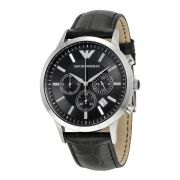 Imported Emporio Armani Exclusive Ar2447 Men's Chronograph Leather Strap Watch