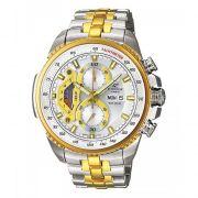 Casio Edifice Tachymeter Chronograph Black Dial Men's Watch - Ef-558sg-1avd