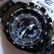Casio 550 Full Black Red Bull Series Watch For Men