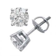 Sheetal Diamonds 0.40tcw Real Round Diamond Party Wear Earring E0268-18k