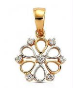 0.15 Cts Certified Real Natural Diamond Pendant