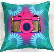 Welhouse India Digital Camera 3D Digital Cushion Cover - Pack Of 1
