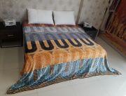 Welhouse Stripes Double Bed Ac Blanket Pfd_n-2