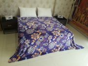 Welhouse Floral Double Bed Ac Blanket Pfd_n-3
