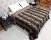 Welhouse India Animal Print Double Bed Classic Quilt Tpc-008