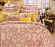 Welhouse India Paisley Design Cotton Double Bedsheet With Two Pillow Cover